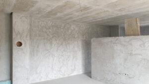 unutarnje žbukanje zidova stana S3