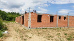 Izgradnja kuće Cvjetna - radovi